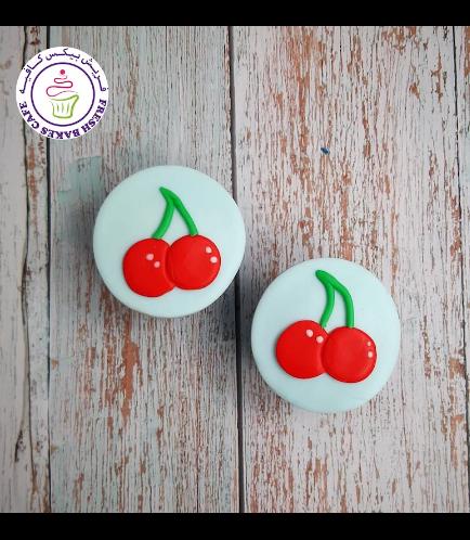 Cherry Themed Cupcakes