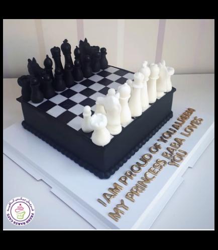 Chess Board Cake 02