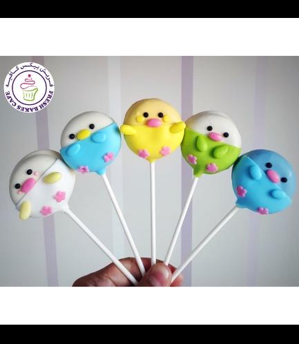Chick Themed Donut Pops 02