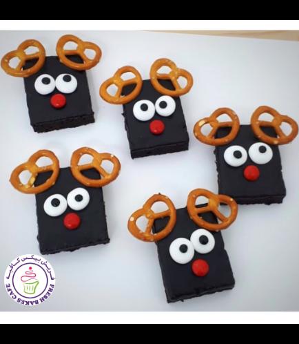 Desserts - Brownies - Reindeers 01