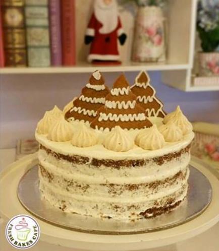 Christmas Gingerbread Cake 1