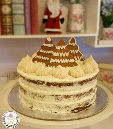 Cake - Gingerbread Cake 01