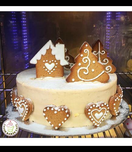 Cake - Gingerbread Cake 02