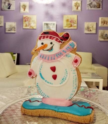Cookies - Sugar Cookies - Snowmen 01