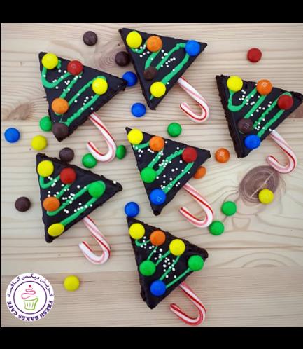 Christmas Themed Brownies - Christmas Trees 02