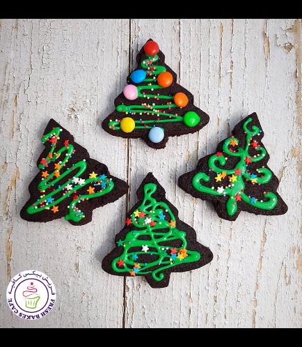 Desserts - Brownies - Christmas Trees 01