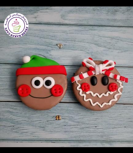 Christmas Themed Brownies - Gingerbread Men 02