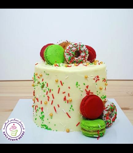 Cake - Dessert - Funfetti Cake - Donuts & Macarons
