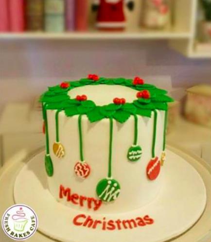 Christmas Themed Cake 12