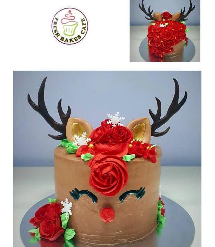 Christmas Themed Cake 17
