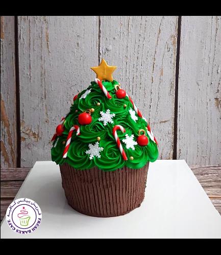 Cake - Decorative - Christmas Tree - Mega Cupcake