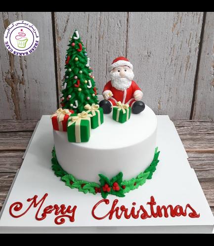 Cake - Decorative - Santa - 3D Cake Toppers - 1 Tier 03
