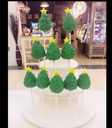 Christmas Themed Cake Pops 3