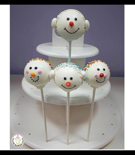 Christmas Themed Cake Pops 12