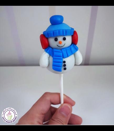 Cake Pops - Snowmen 02