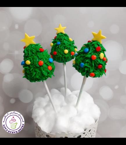 Cake Pops - Christmas Trees 02