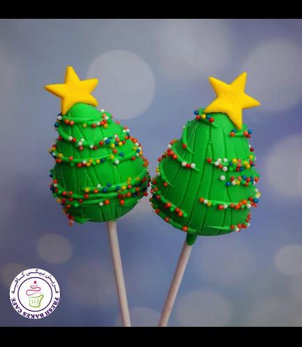 Cake Pops - Christmas Trees 03