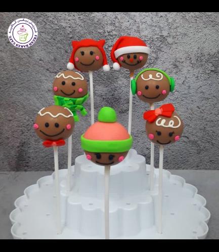 Cake Pops - Gingerbread Men
