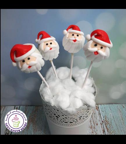 Cake Pops - Santa 03
