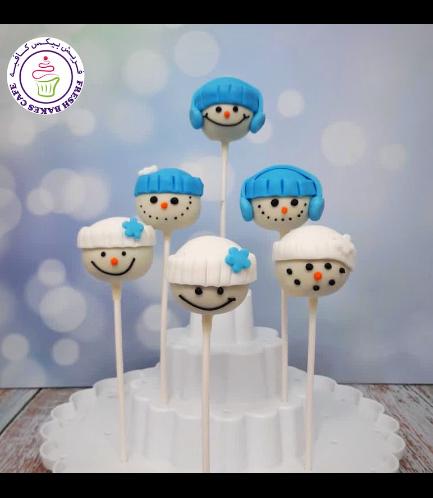 Cake Pops - Snowmen 01