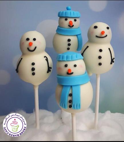 Cake Pops - Snowmen 04