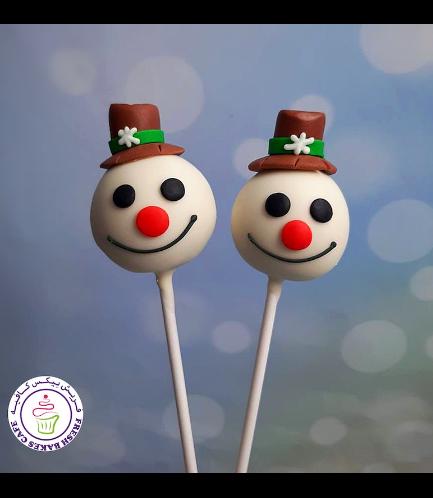 Cake Pops - Snowmen 05