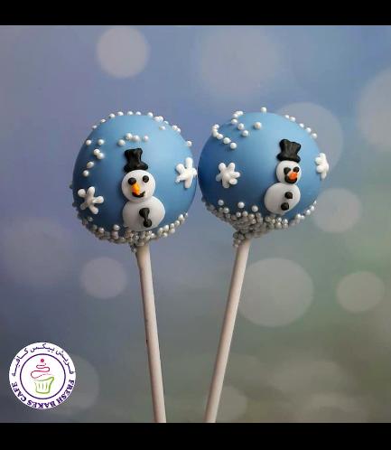 Cake Pops - Snowmen 06