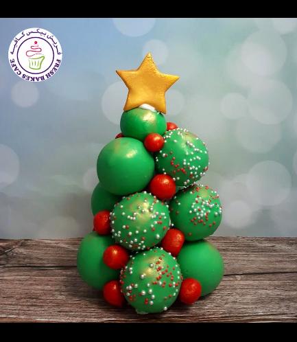 Cake Pops Tower - Christmas Tree 01a