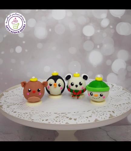Cake Pops w/o Sticks - Ornaments 01