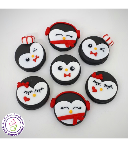 Christmas Themed Chocolate Covered Oreos - Penguins 02