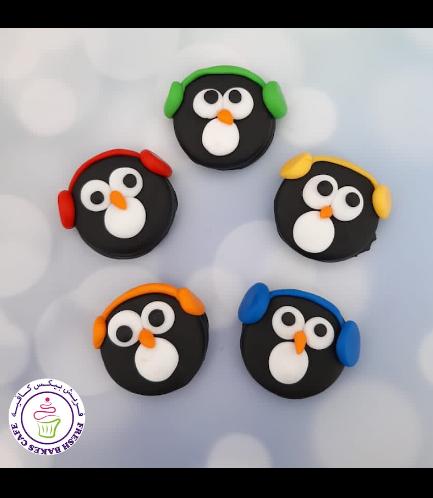 Chocolate Covered Oreos - Penguins 01