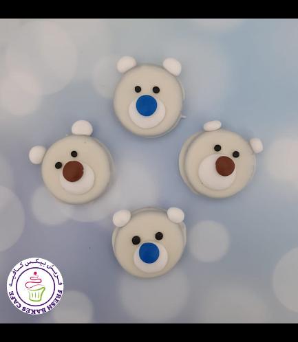 Chocolate Covered Oreos - Polar Bears