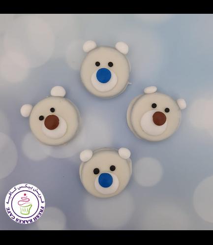Christmas/Winter Themed Chocolate Covered Oreos - Polar Bears