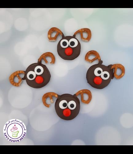 Chocolate Covered Oreos - Reindeers 01