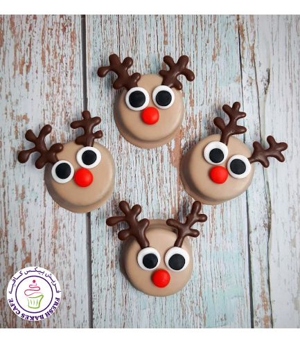 Christmas/Winter Themed Chocolate Covered Oreos - Reindeers 02