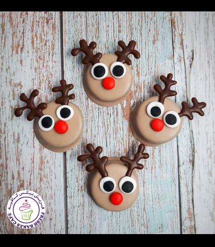 Chocolate Covered Oreos - Reindeers 02
