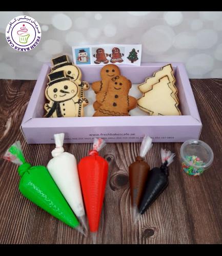 Christmas Themed Kit - Vanilla/Gingerbread