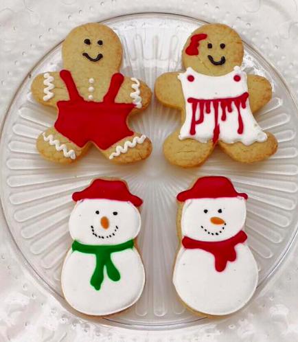 Christmas Themed Cookies 3