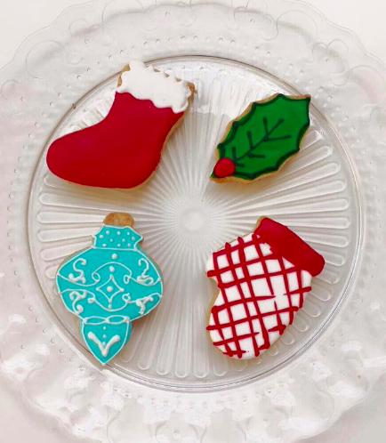 Christmas Themed Cookies 4