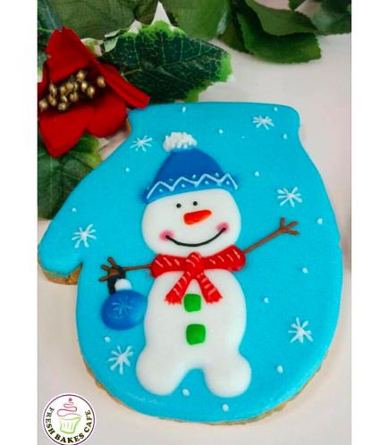 Cookies - Sugar Cookies - Snowmen 04