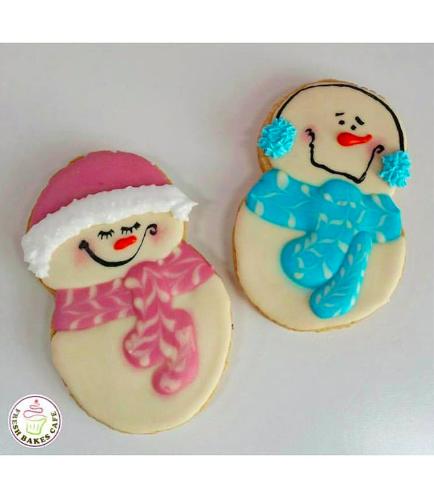 Cookies - Sugar Cookies - Snowmen 03