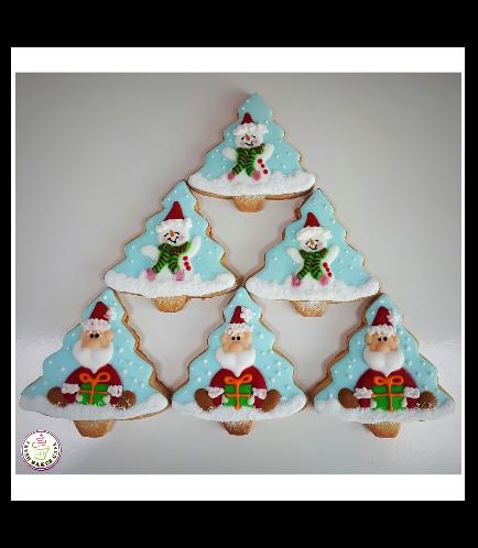 Cookies - Sugar Cookies - Santa & Snowman