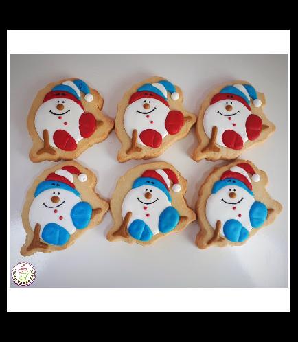 Cookies - Sugar Cookies - Snowmen 06