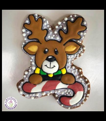 Cookies - Sugar Cookies - Reindeer 01