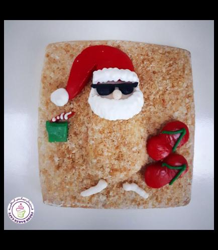 Cookies - Sugar Cookies - Santa 01