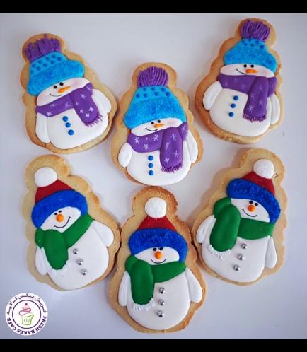 Cookies - Sugar Cookies - Snowmen 07