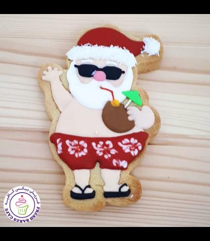 Cookies - Sugar Cookies - Santa 02