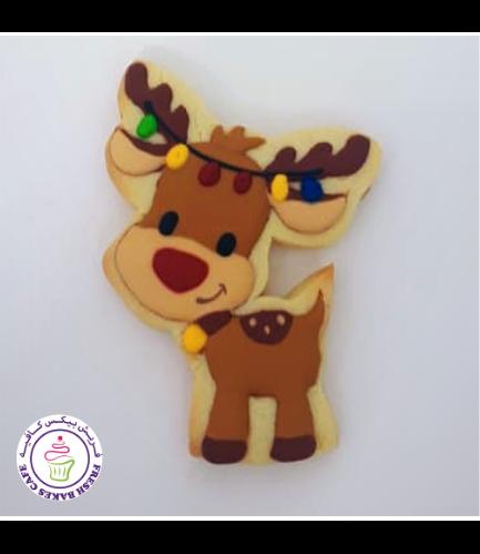 Cookies - Sugar Cookies - Reindeer 02