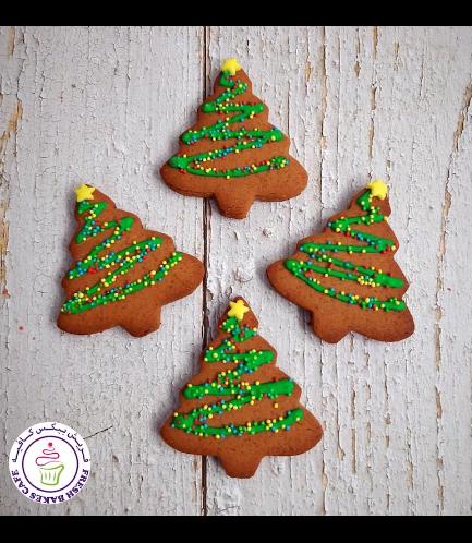 Cookies - Gingerbread Cookies - Christmas Trees 01