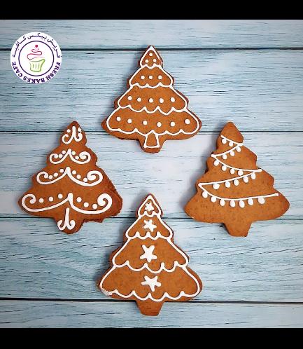 Cookies - Gingerbread Cookies - Christmas Trees 02